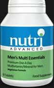 Mens multi-vitamin pills