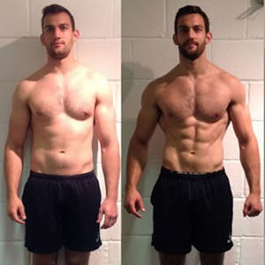 Andrew Burgess off-season rugby client