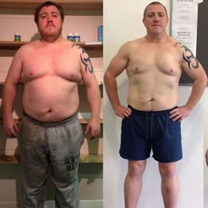 Billy Harvey weight loss transformation