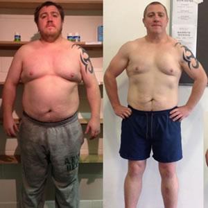 Billy Harvey weight loss transformation