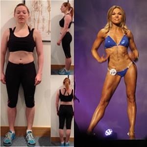Caroline Daist fitness transformation