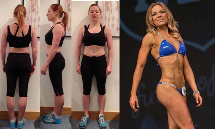Caroline fitness transformation