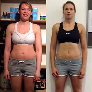 Emma fitness transformation