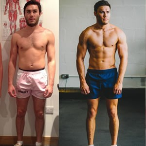 Lee Campion fitness transformation