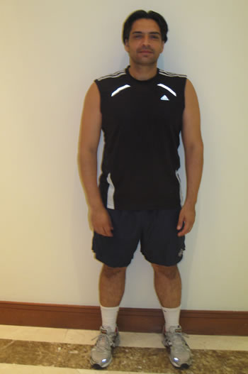 Niraj Makji personal training