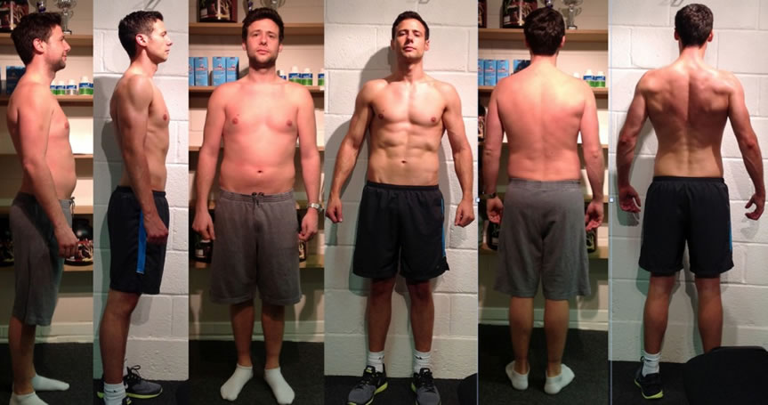 Paul Ringer fitness transformation