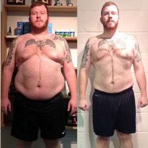 Scott Johnson weight loss transformation