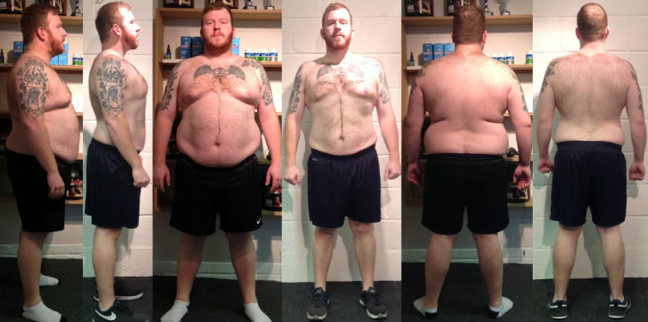 Scott Johnson weight loss transformation