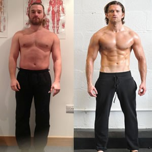 Simon Clarke fitness transformation