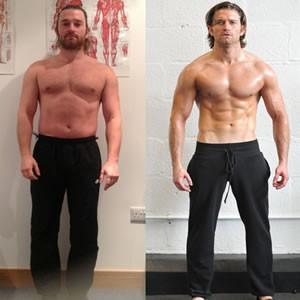 Simon Clarke fitness transformation