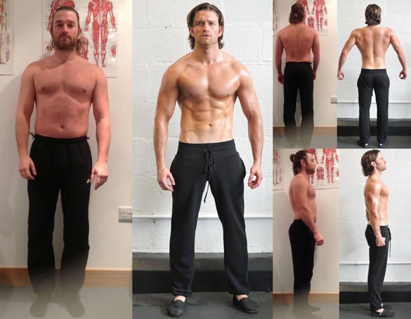 Check out Simon Clarke's INSANE 12 week body fat transformation in  Tunbridge Wells, Kent!