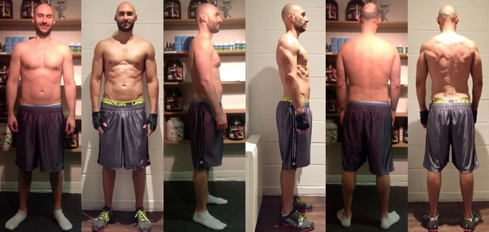 Client transformation of Jonny Ouellette