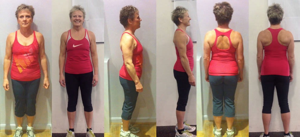 Client Wendy fitness transformation