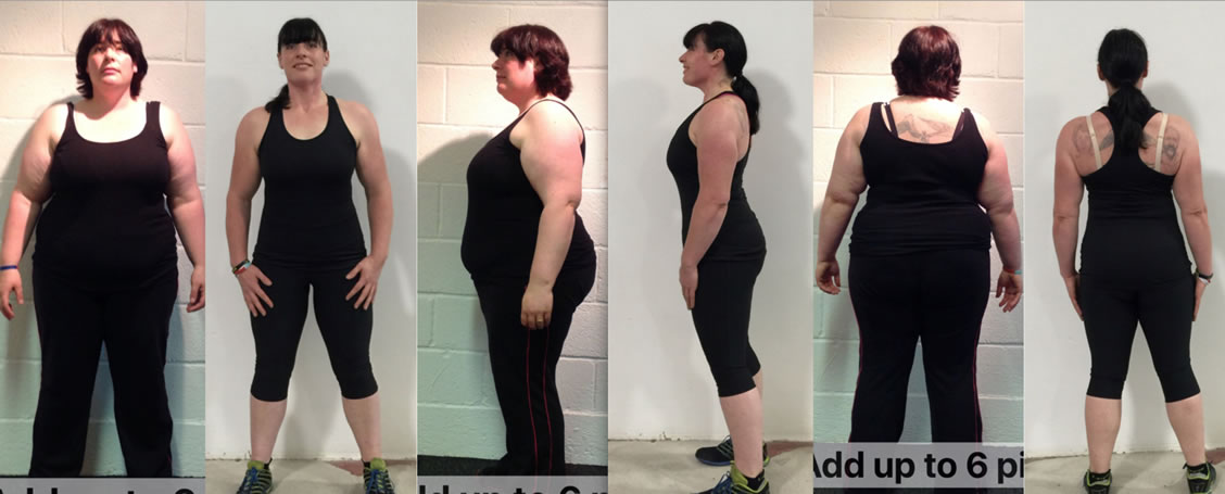 Client Jennys personal fitness transformation