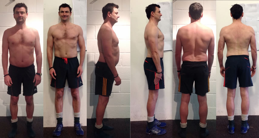 Client Mike personal fitness transformation