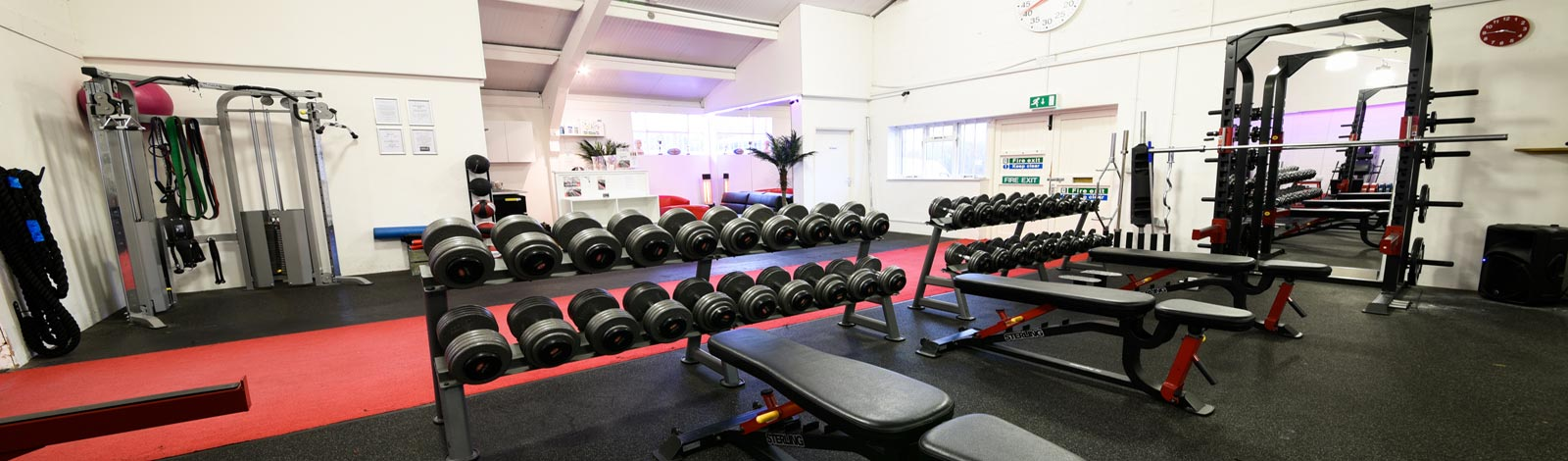 Interior of Tunbridge Wells gym
