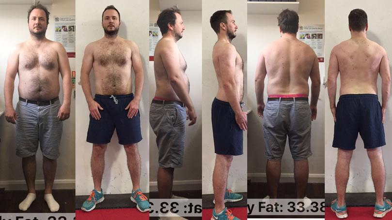 Tim Stoltons fitness transformation