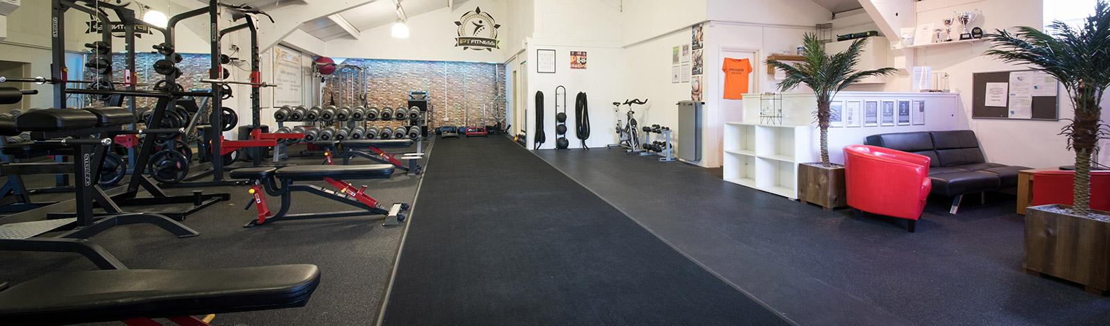 Interior of our gym