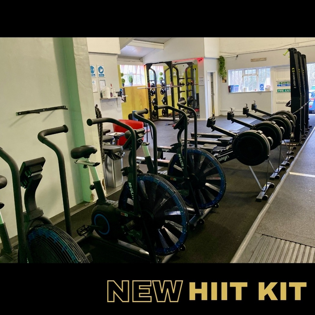 New bootcamp gym equipment arrival